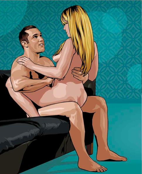 Sex sitting down