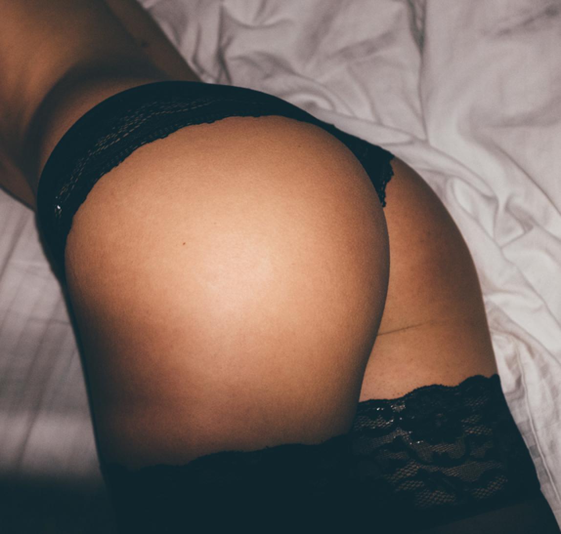 woman's butt